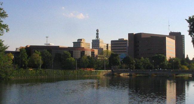 Flint skyline