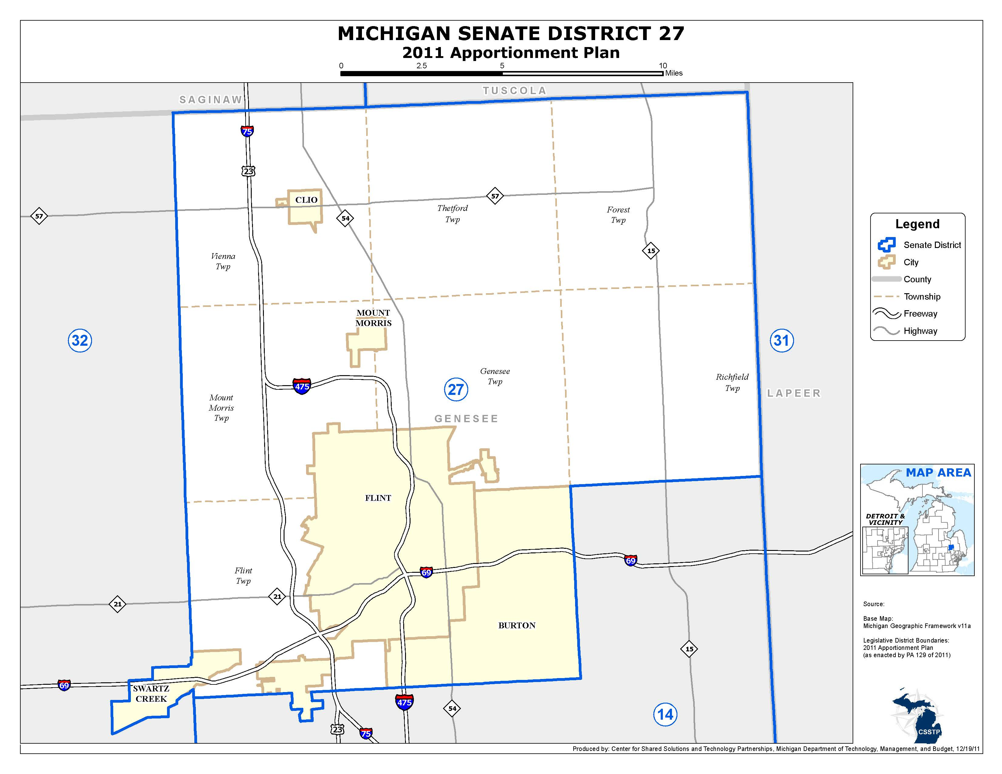 Michigan Senate District 27